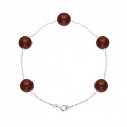 Bracelet Or et Eau Douce