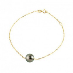 Bracelet Or et Tahiti