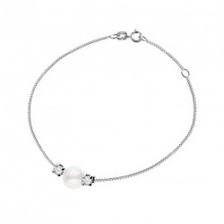 Bracelet Diamants et Eau Douce